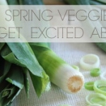 A guide to spring vegetables – leeks