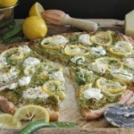 Spring-pea-and-lemon-pesto-pizza