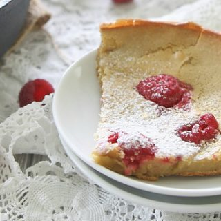 Raspberry Lemon Dutch Baby