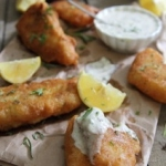 Rosemary beer battered fish
