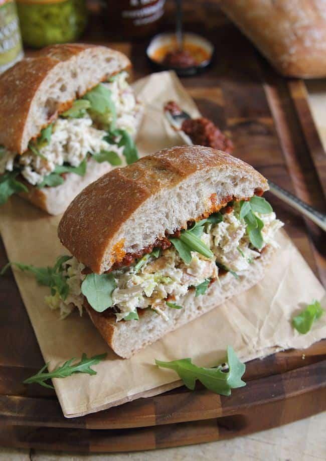 ... marinated grilled chicken sandwiches italian chicken salad sandwiches