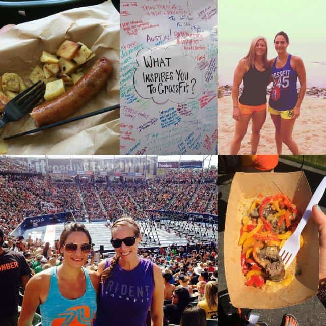 CrossFit Games collage