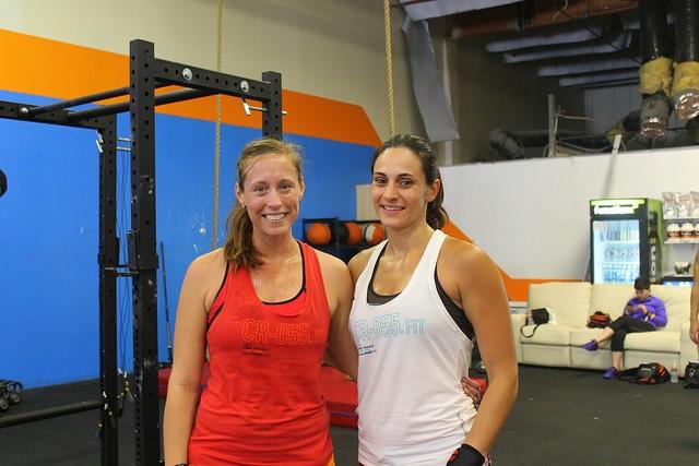 Ericka and Gina after FGB