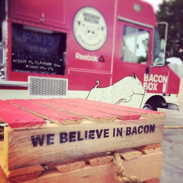 Reebok bacon truck