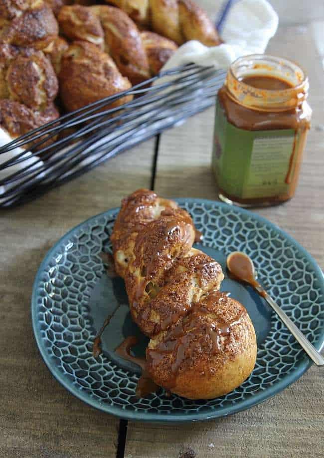 Apple cinnamon pretzel twists