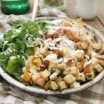 Blue cheese chicken apple salad 450x450