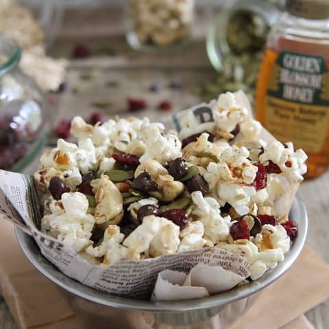 Trail Mix Popcorn