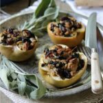 Turkey and sage stuffed apples 450x450