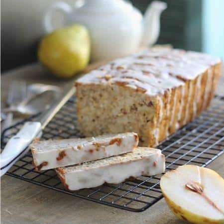 Granola pear bread 450x450