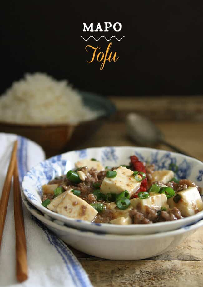 Mapo tofu {$100 Visa gift card giveaway} - Running to the Kitchen