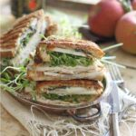 Turkey cheddar apple butter panini 450x450