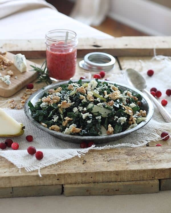 Winter Chopped Kale Salad