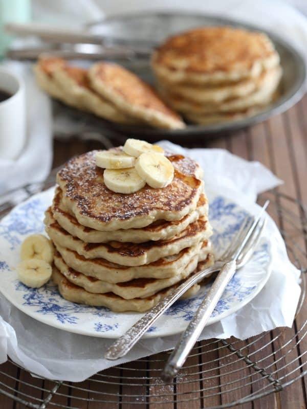 Banana Nutmeg Pancakes