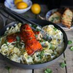 Creamy Lemon Lobster Pappardelle