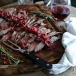 Pomegranate cranberry flank steak 450x450
