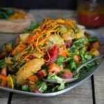 Chopped Carrot Citrus Salad {Crisp Cooking Giveaway}