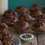 Chocolate Cherry Muffin Tops 450x450