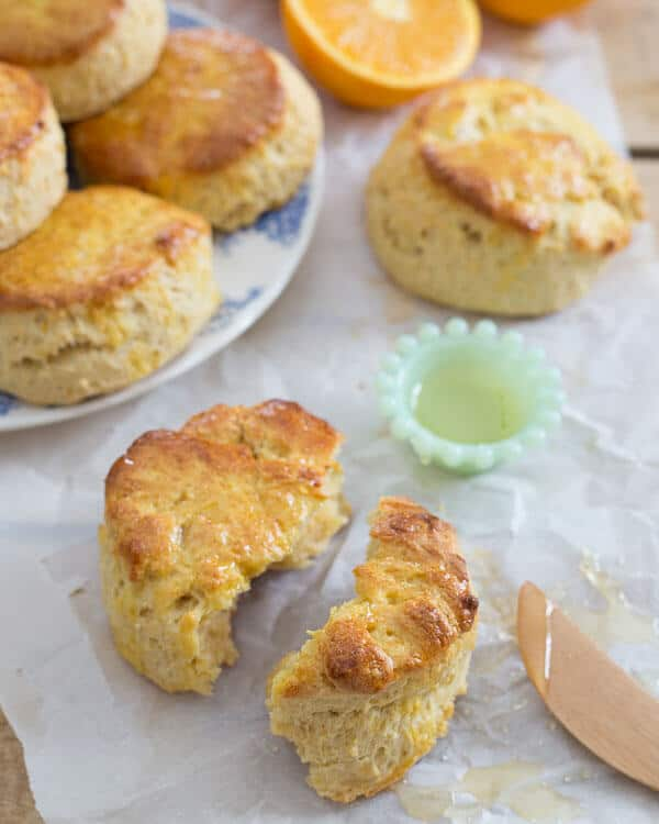 These citrus honey biscuits are a delicious addition to your breakfast plate.
