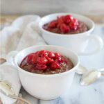Slow Cooker Chocolate Cherry Steel Cut Oatmeal