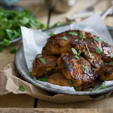 Sweet and Spicy Indian Chicken