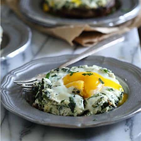 Portobello Mushroom Egg Bakes