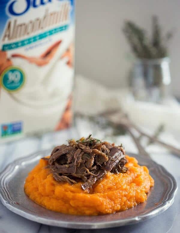 This vanilla carrot parsnip puree is a great mashed side dish alternative to potatoes.