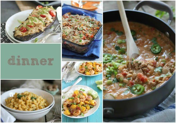 Healthy Eating Dinner Recipes