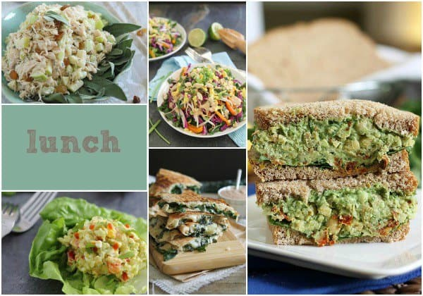 Healthy Eating Lunch Recipes