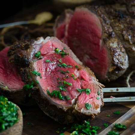 Balsamic Dijon Beef Tenderloin