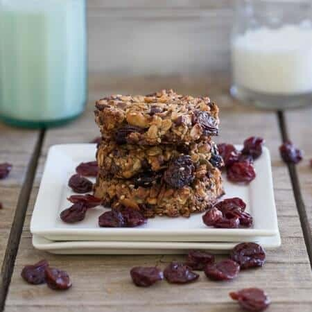 Cherry Almond Butter Power Cookies 450x450