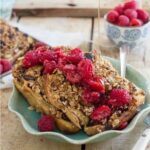 Raspberry Granola French Toast