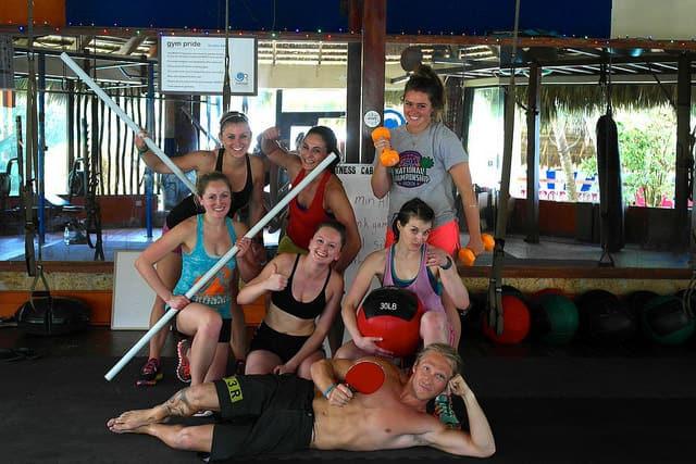 CrossFit group shot