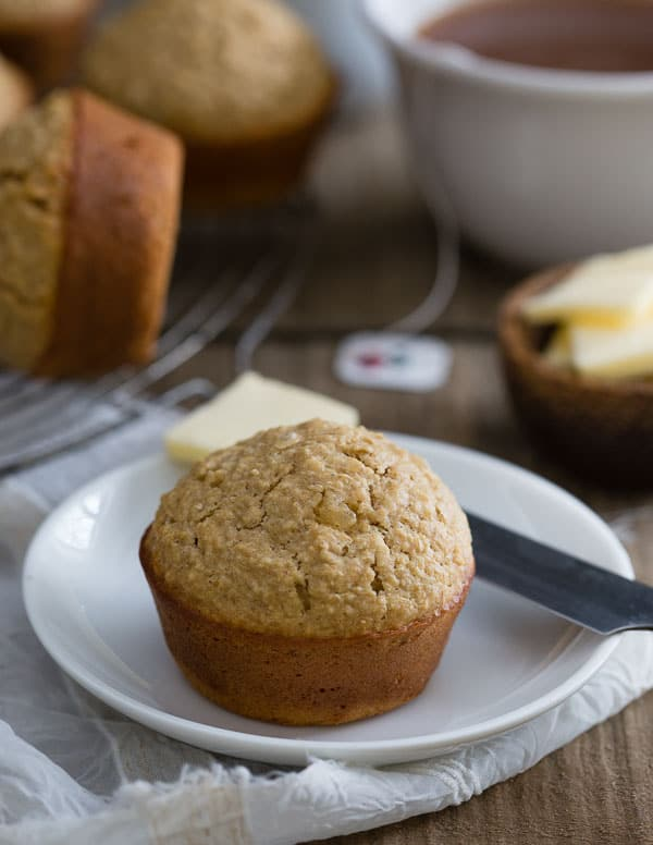 Brown Bread Muffins are a bite-sized take on traditional brown bread. Perfect portion control!