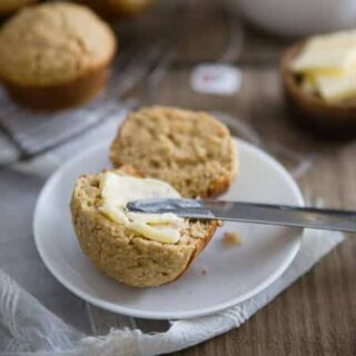 Irish Brown Bread Muffins
