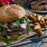 Strawberry Goat Cheese Roast Beef Sandwich 450x450