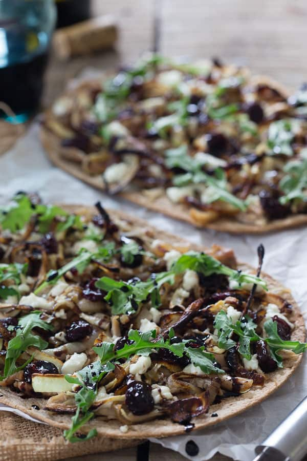 Chicken Cherry Flatbread