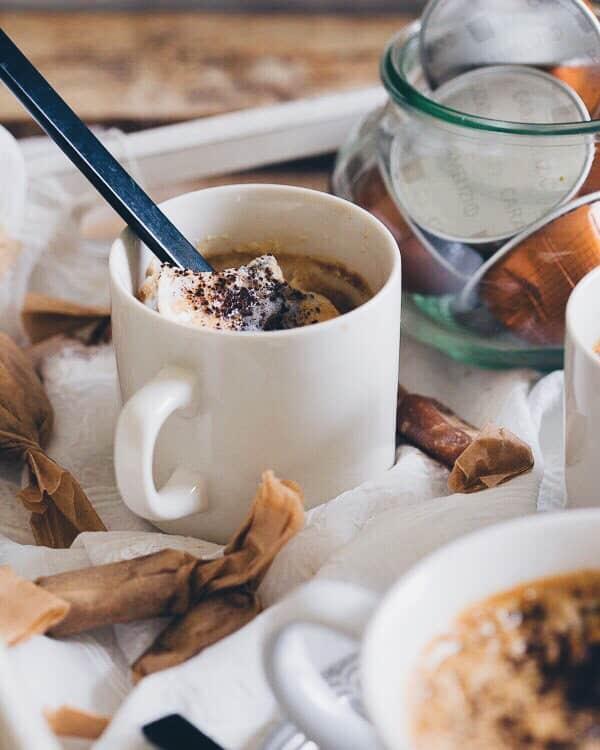Caramel Coffee Pudding