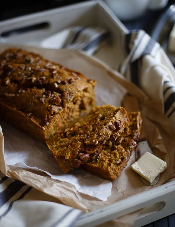 Mango Carrot Bread