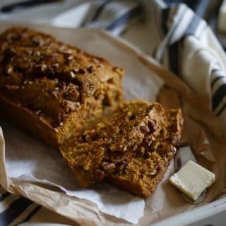Mango Carrot Spice Bread