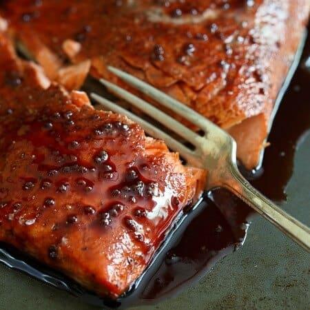 Tart Cherry Glazed Salmon 450x450