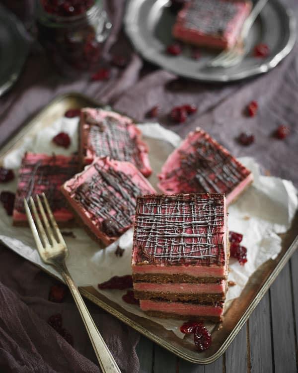 Paleo Chocolate Cherry Bars