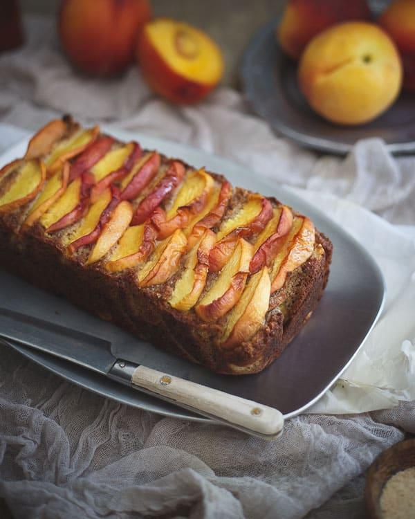 Maple Peach Bread