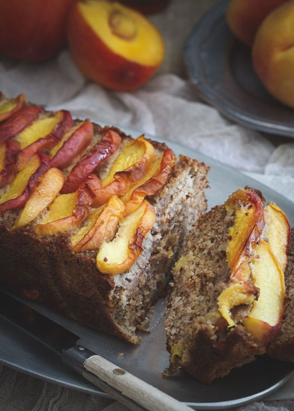 Grain Free Maple Peach Bread