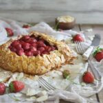 Paleo Strawberry Almond Galette 450x450