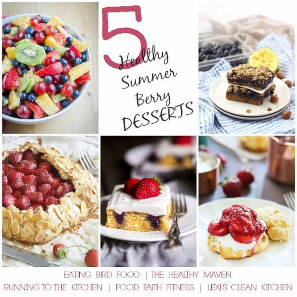 5 Healthy Summer Berry Desserts