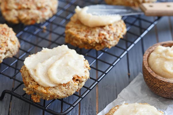 Grain Free Carrot Cake Cookies