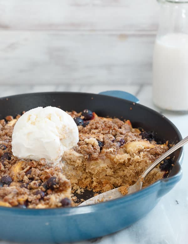 GF Peach Blueberry Buckle