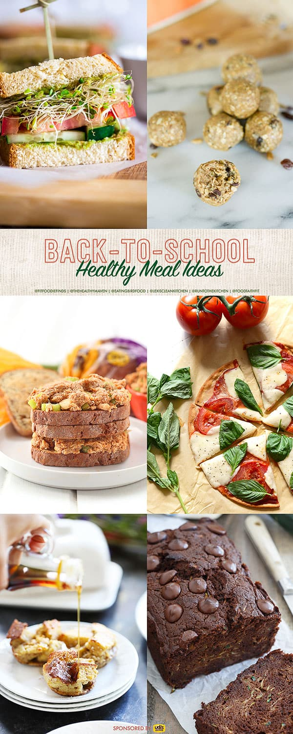 Healthy and Gluten Free Back to School Meals