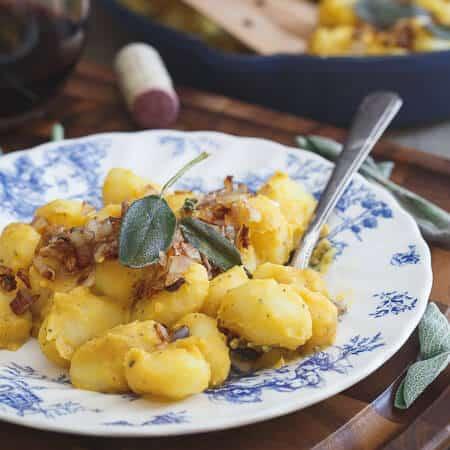 Creamy sage butternut white bean sage gnocchi 450x450