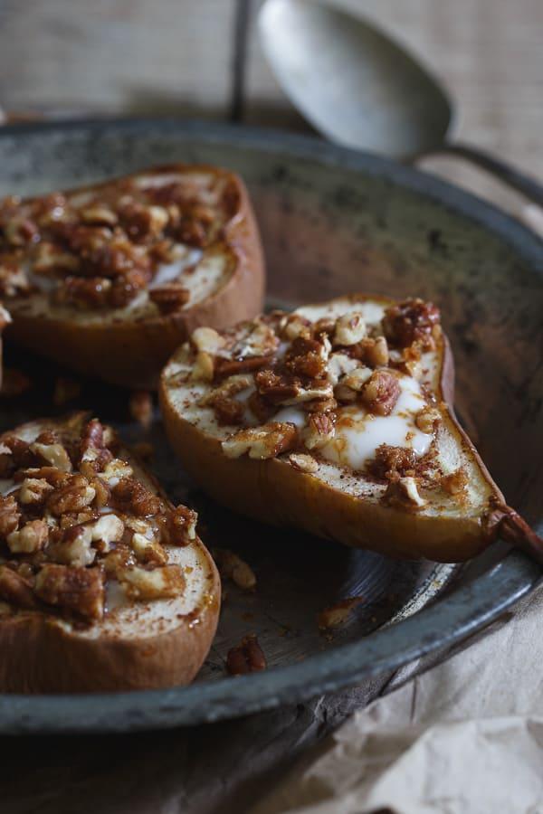 Paleo Baked Pears